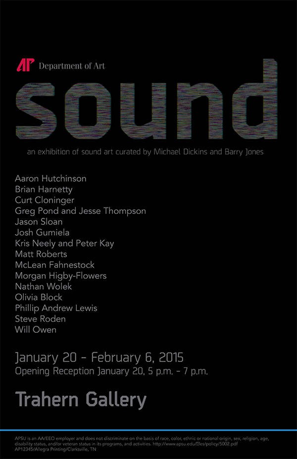 sound show poster