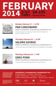 FEB 2014 sXe artist talks